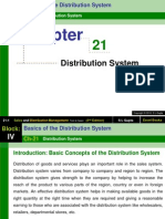 Chapter 21 Distribution System-Sales and Distribution Management