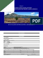 6 Batur Geopark Annex 1 Self Evaluation