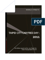 Rethinking Car Free Days in Taipei City-Final-19oct11