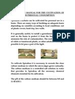 IIMSAM-SpirulinaCultivationManual-2007