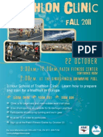 Fall 2011 Triathlon Clinic