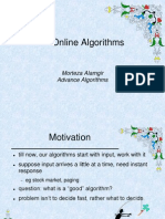 Online Algorithms