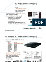 Data Sheet BDX-S600U