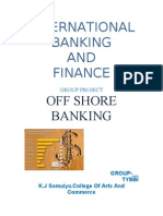 OFF-SHORE BANKING