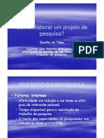 Como Elaborar Proj Pesq