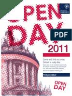 Open Days Sept 2011