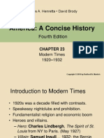 Ch23 Modern Times 74 Slides