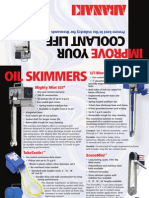 Coolant Skimmers & Accessories, Tramp Oil Skimmers   Abanaki Corporation