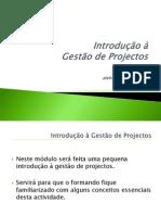 Introdução à Gestão de Projectos 2003