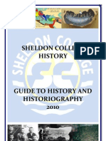 History Research Guide 2011