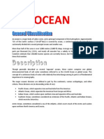 An Ocean is a Major Body of Saline Water