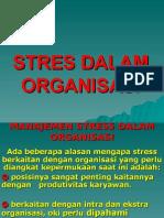 Manajemen Stress Dalam Organisasi