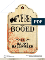 Halloween Neighborhood BOO Sign Free Printable