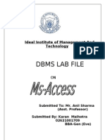 Access Project File Final