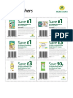 P and G Vouchers