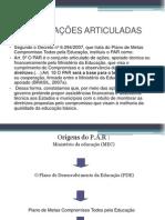 PLANO DE AÇOES ARTICULADAS