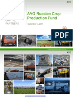AVG Russian Crop Production Fund Presentation
