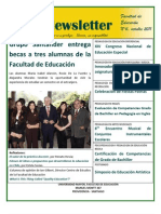 Newsletter 6 - Facultad de Educación