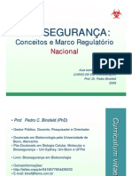 Aula 1 Biosseguranca Marco Regulatorio Nacional