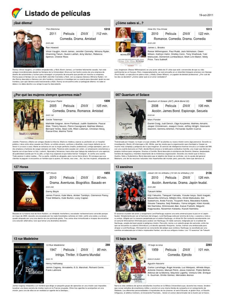 Coleccion Cine. Actualizada 19 Octubre 2011 d9fe4197f64