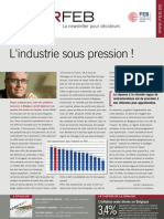 L'industrie sous pression !, Infor FEB 32, 20 octobre 2011