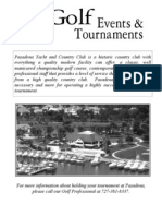 pasadena tournament package webpage