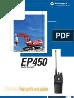 Radio Portatil Motorola Ep450