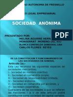 Presentacion de Sociedad Anonima m
