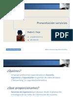 Presentación servicios PTA v4.01
