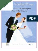 Choosing Wedding Favors & Decoration Ideas