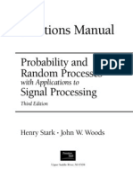 Probability&RandomProcesseswithApplicationstoSignalProcessing3eStark