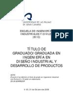 Grado en Ingenieria en diseño industrial y desarrollo de productos CRIA