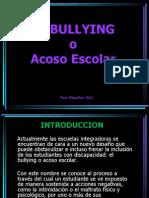 El Bullying o Acoso escolar