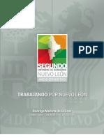 Anexo Estadístico del Segundo Informe de Gobierno Nuevo León
