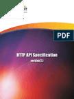 Scheduling HTTP API