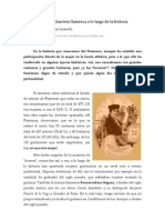 La mujer como guitarrista flamenca a lo largo de la historia (José Miguel Hernández Jaramillo, 1997)
