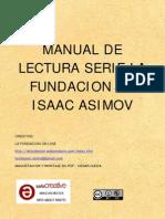 MANUAL DE LECTURA SERIE LA FUNDACION DE ASIMOV