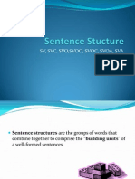 Sentence Structures