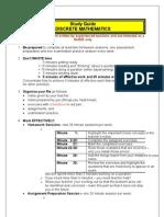 Discrete Study Guide - final