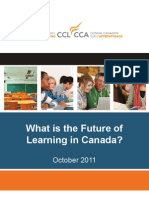 What is the Future of Learning in Canada