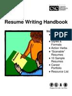 8527122 Resume Handbook 1