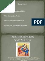 Administración  sistemática