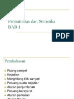 Probabilitas Dan Statistika BAB 1