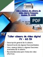 Uso y manejo de cámara de video digital