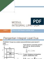 Modul 3 Integral Lipat Dua