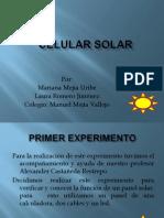 Celular Solar Practico