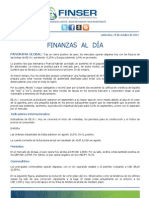 Finanzas al Día - 19.10.11