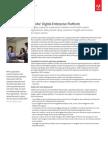 Adobe Digital Enterprise Platform Solution Brief