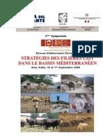 Réseau Méditerranée Elevage - Stratégies des filières lait dans le bassin Méditerranéen