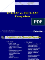 Us Gaap vs. Prc Gaap1